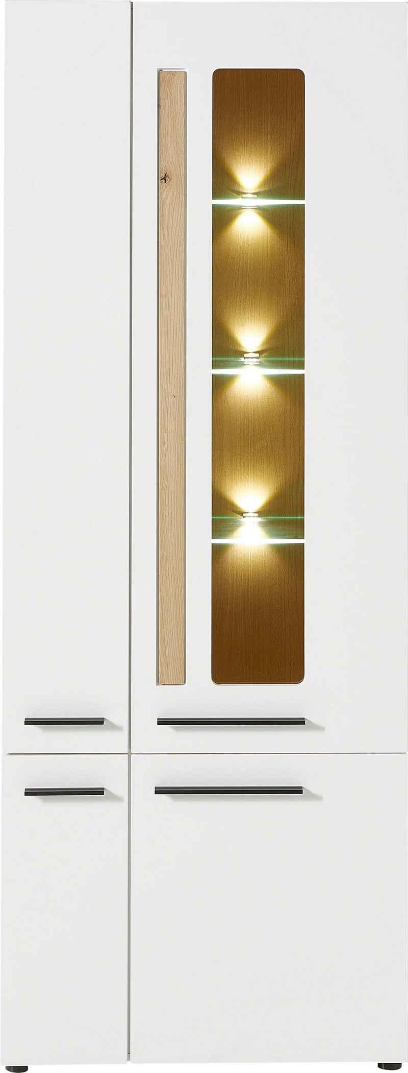 Innostyle Standvitrine »Loft Two« mit Soft-Close-Funktion, inkl. Beleuchtung