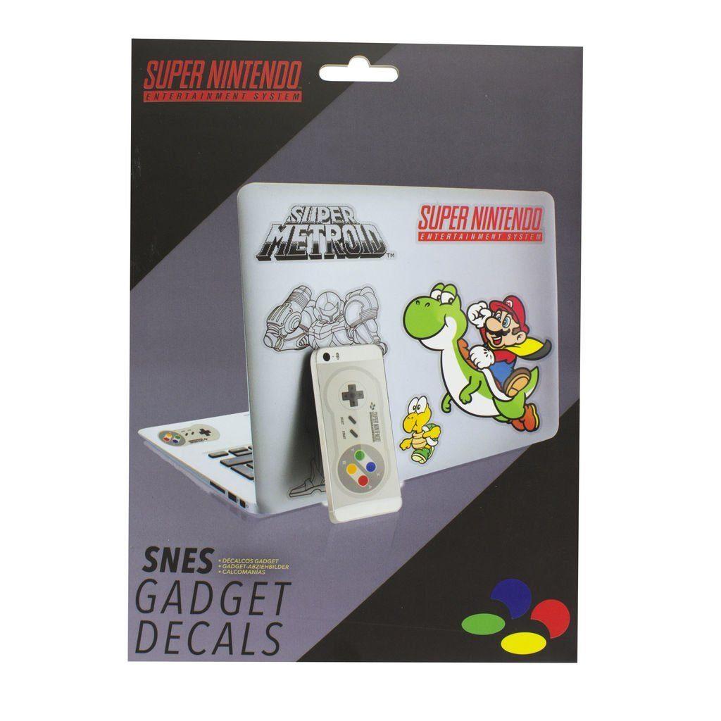 Paladone Fanartikel »Super Nintendo Gadget Abziehbilder«