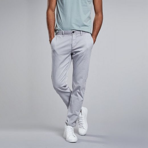 NEW IN TOWN Chino in Strukturgewebe