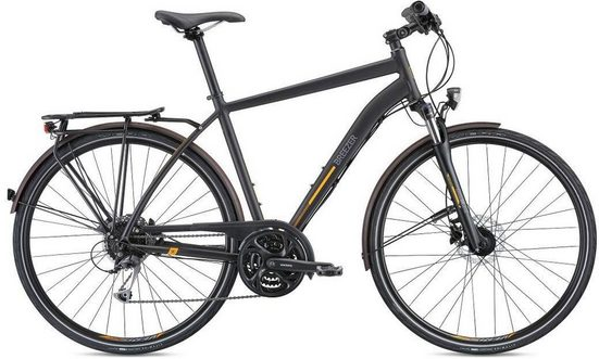 BREEZER Bikes Trekkingrad »LIBERTY S2.1+ 2018«, 27 Gang Shimano Deore Schaltwerk, Kettenschaltung