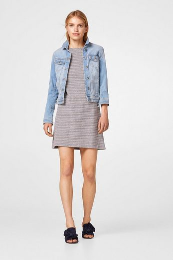 EDC BY ESPRIT Kleid mit Rüschen-Details