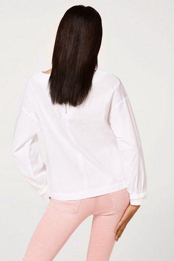 ESPRIT Oversize-Bluse aus reiner Baumwolle