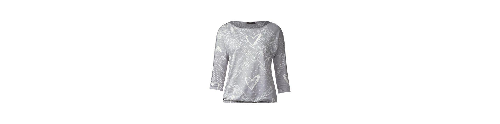 Billig Beste Preise CECIL Patchwork Look Shirt Rabatt Günstig Online Billig Verkauf Großhandelspreis Wie Viel Günstig Online Auslassstellen DEC3VzU15
