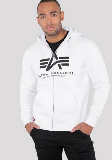 Alpha Industries Kapuzensweatjacke »BASIC ZIP HOODY«