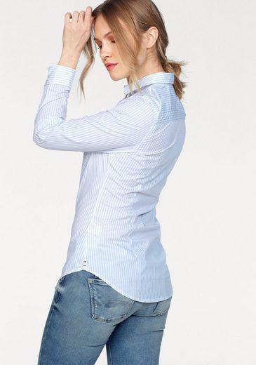 Tommy Jeans Bluse TJW SLIM FIT STRIPE SHIRT