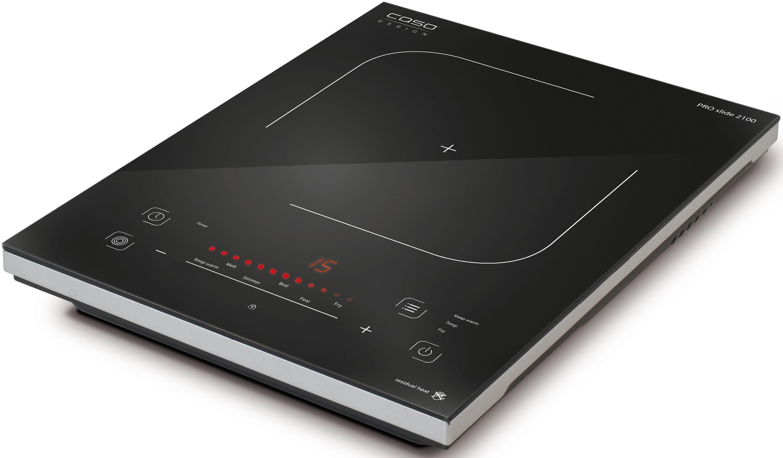 Caso Einzel-Induktionskochplatte Pro Slide 2100, Smart Control