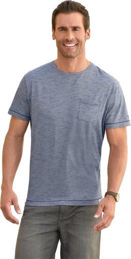 Marco Donati Kurzarm-Shirt in Flammgarn-Qualität