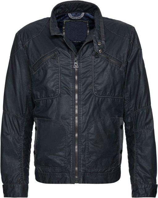 marco donati -  Jacke aus gewachstem Material