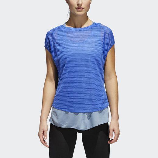 adidas Performance T-Shirt Supernova TKO Two-in-One UV T-Shirt