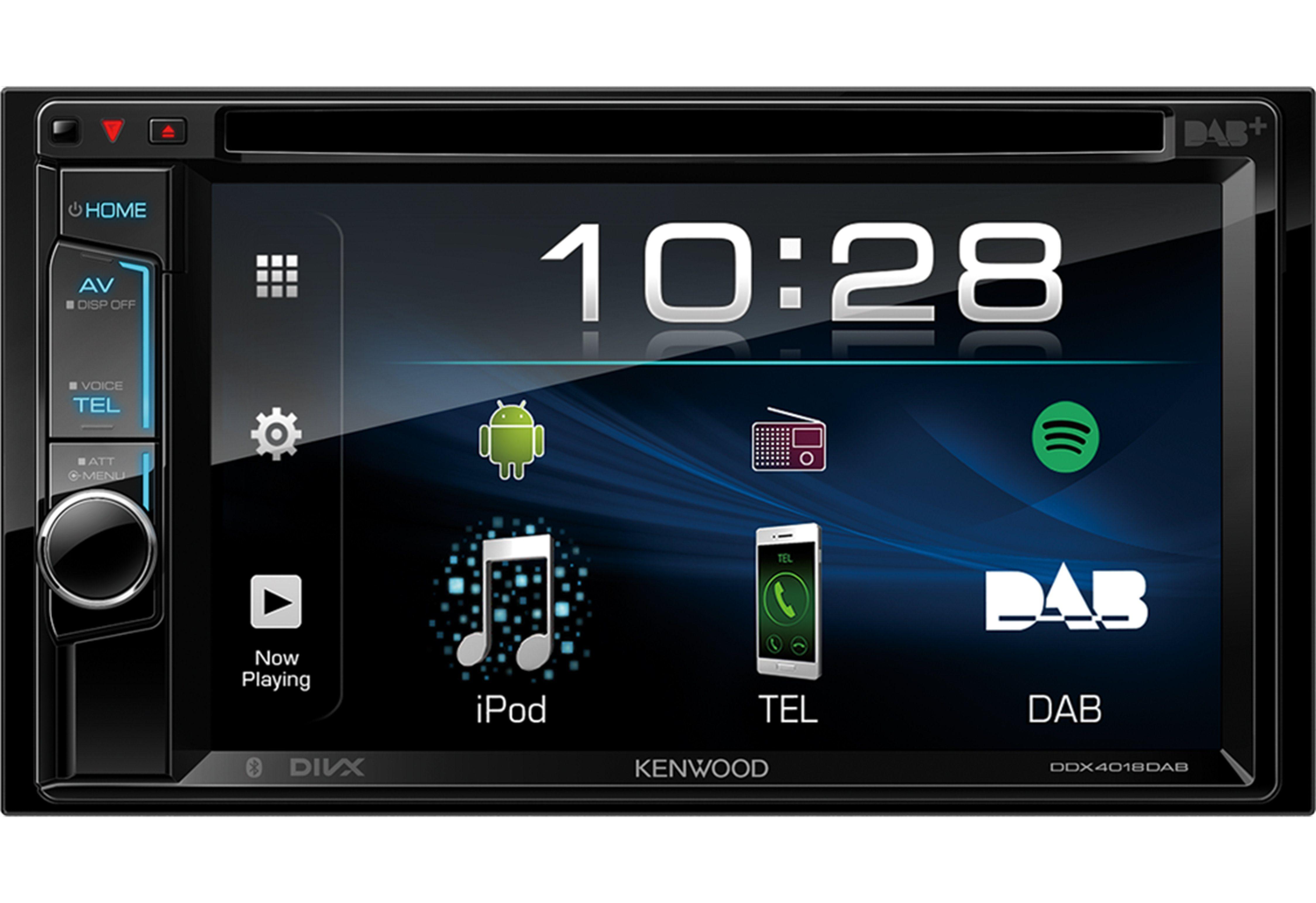 Kenwood 2-DIN WVGA-Monitor mit Bluetooth und Digitalradio »DDX4018DAB«