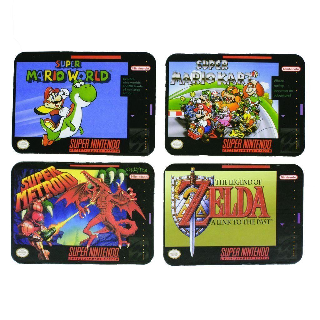 Paladone Fanartikel »Super Nintendo Untersetzer«