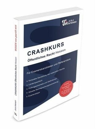 Broschiertes Buch »CRASHKURS Öffentliches Recht - Hessen«
