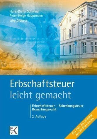 Broschiertes Buch »Erbschaftsteuer - leicht gemacht«