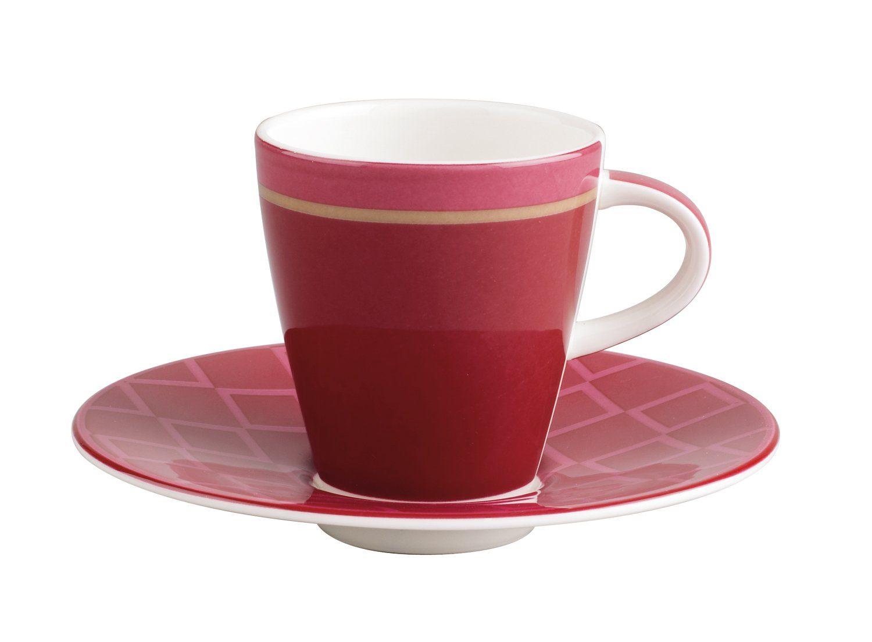 Villeroy & Boch Espressotasse mit Untere »Caffè Club Uni Berry«