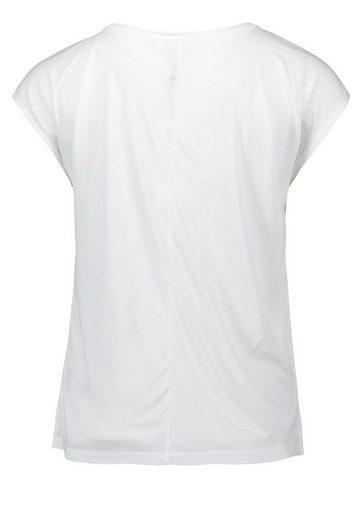 Public Shirt mit Mustermix aus Streifen und Blumen