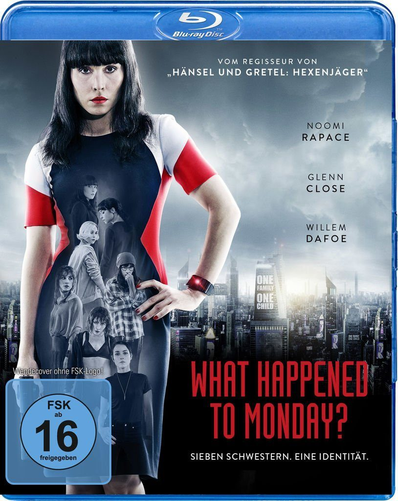 WVG BLU-RAY Film »What Happened To Monday?«
