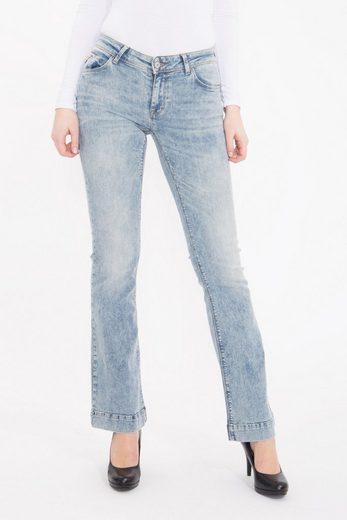Mexx Slim-fit-Jeans, mit Schlag, in individueller Waschung