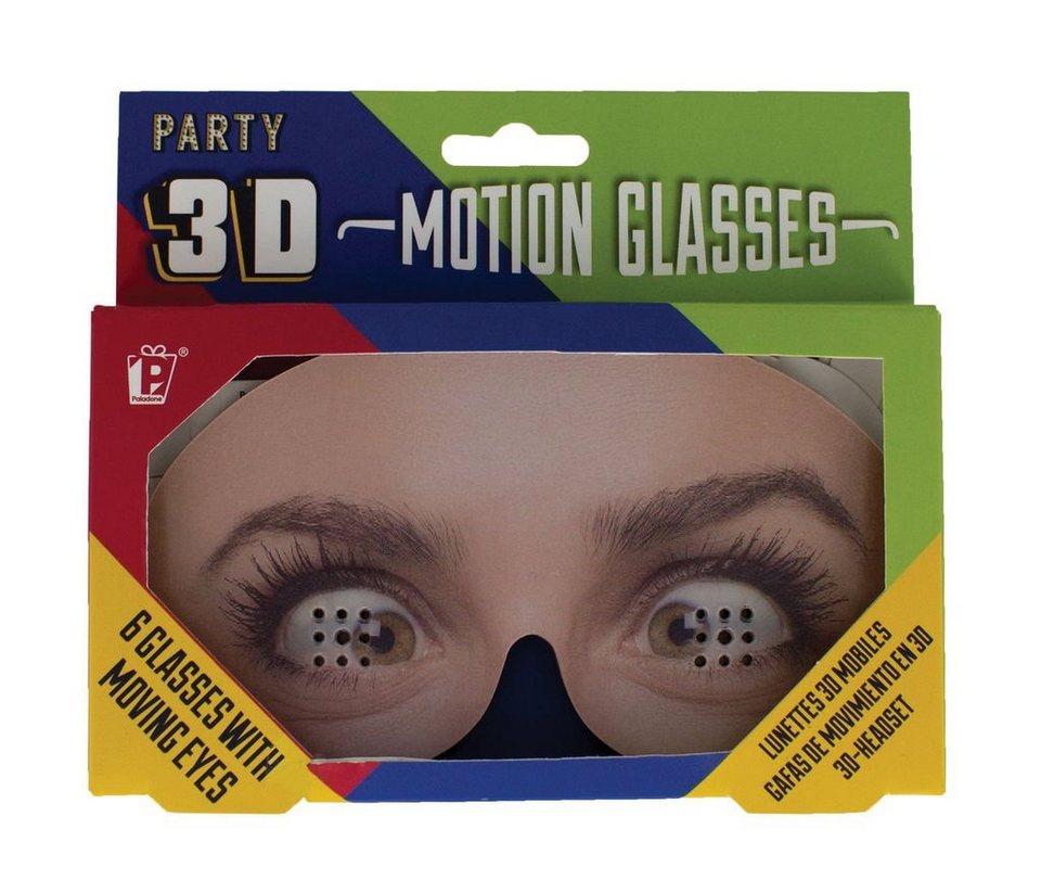 Paladone Fanartikel  3D Motion Brillen in Augendesign (6 Stk)  online kaufen