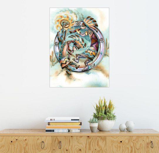 Posterlounge Wandbild - Jody Bergsma »Der Glückstanz«