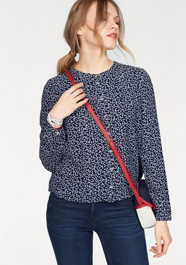 Tommy Jeans Bluse TJW PEPLUM DETAIL BLOUSE