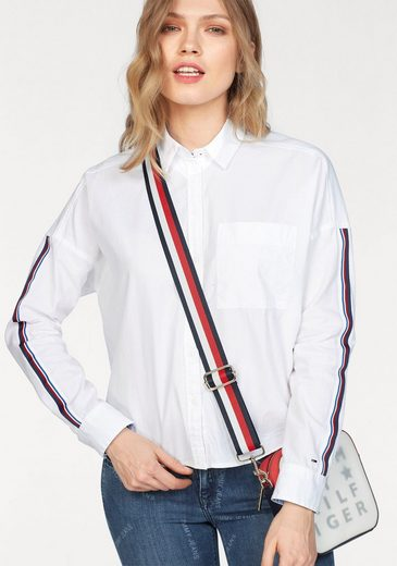 Tommy Jeans Bluse TJW OVERSIZED TAPE DETAIL SHIRT