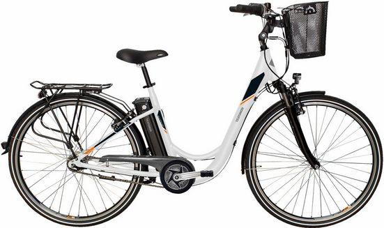 Telefunken E-Bike »RC766 Multitalent«, 7 Gang Shimano Nexus Schaltwerk, Nabenschaltung, Mittelmotor 250 W