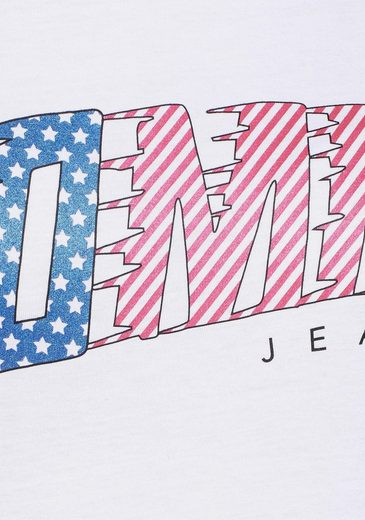 Tommy Jeans T-Shirt TJW AMERICAN FLAG LOGO TEE