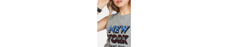 Tommy Jeans Tank-Top TJW AMERICANA SEQUINS TANK Rabatt Echt Rabatt Ebay xUaCk0