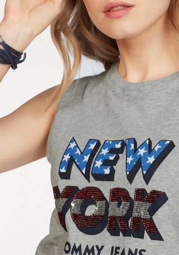 Tommy Jeans Tank-top Tjw Americana Sequins Tank