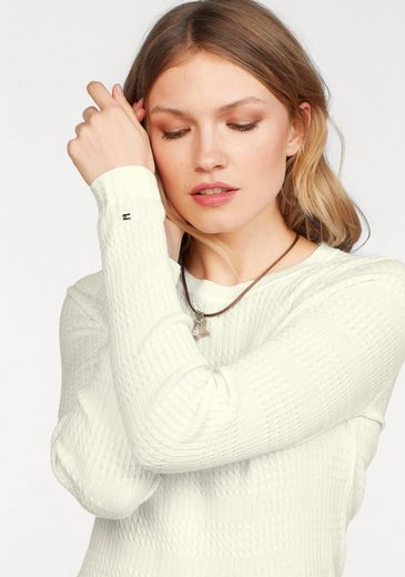 Tommy Hilfiger Pullover ROMAAN MINI CABLE C-NK SWTR
