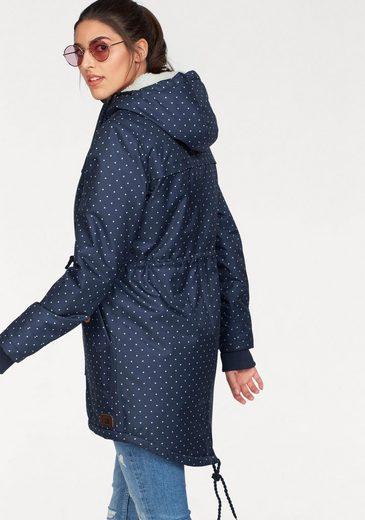 Ocean Sportswear Parka Rumpfbereich mit kuscheligem Fleece gefüttert