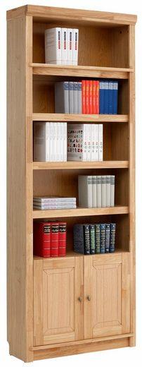 Home affaire Bücherregal »Cliff«, Höhe 220 cm, mit 2 Holztüren