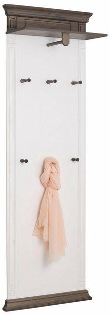 Garderobenleisten und Haken - Home affaire Wandpaneel »Vinales«, Höhe 196 cm aus massiver Kiefer  - Onlineshop OTTO