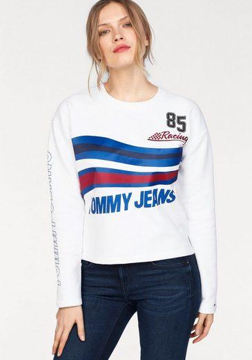 Tommy Jeans Sweatshirt TJW RACING LOGO SWEATSHIRT