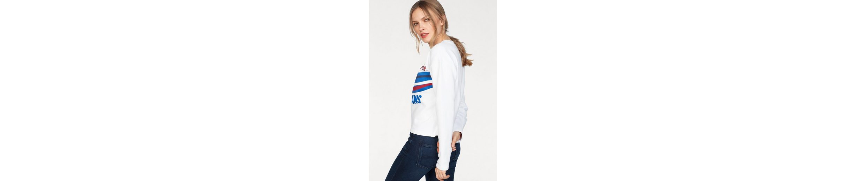 Tommy Jeans Sweatshirt TJW RACING LOGO SWEATSHIRT Limit Rabatt WmeJsh