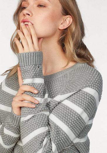 Tommy Hilfiger Pullover ROXANNE TEXTURE C-NK SWTR