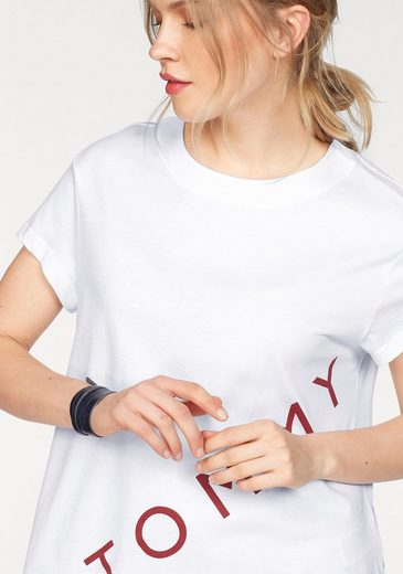 Tommy Hilfiger T-Shirt TH ATH BENNI GRAPHIC TEE