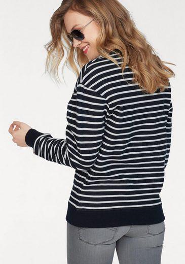 Tommy Jeans Sweatshirt TJW STRIPE BADGE SWEATSHIRT