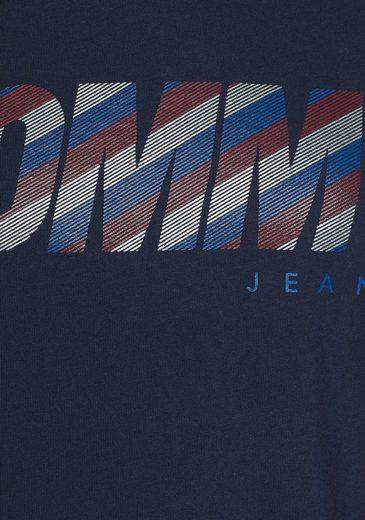 Tommy Jeans T-Shirt TJW STRIPY LOGO TEE