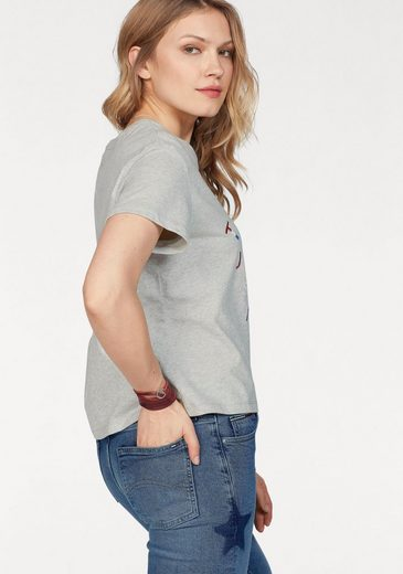 Tommy Jeans T-Shirt TJW EMBROIDERED LOGO TEE