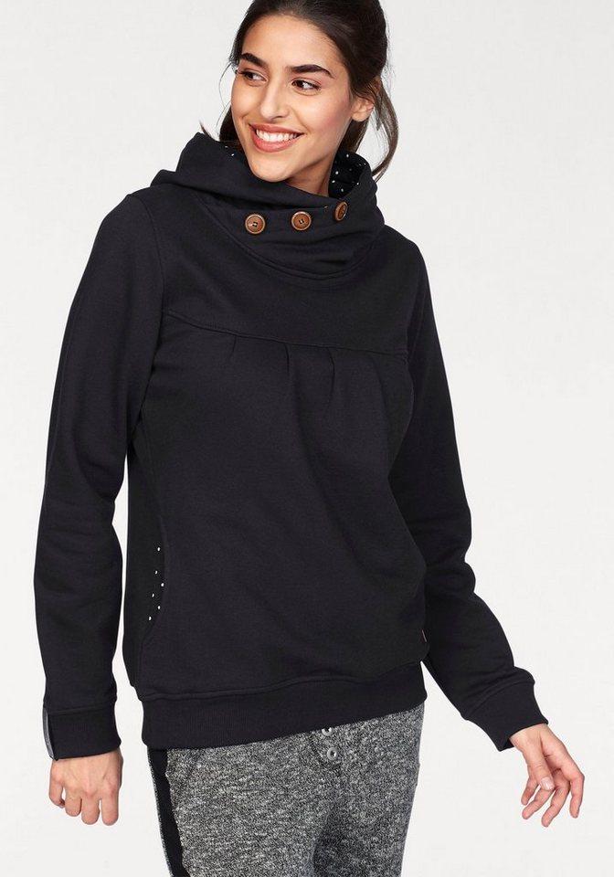 ocean sportswear -  Kapuzensweatshirt Gepunktetes Futter in Taschen und Kapuze