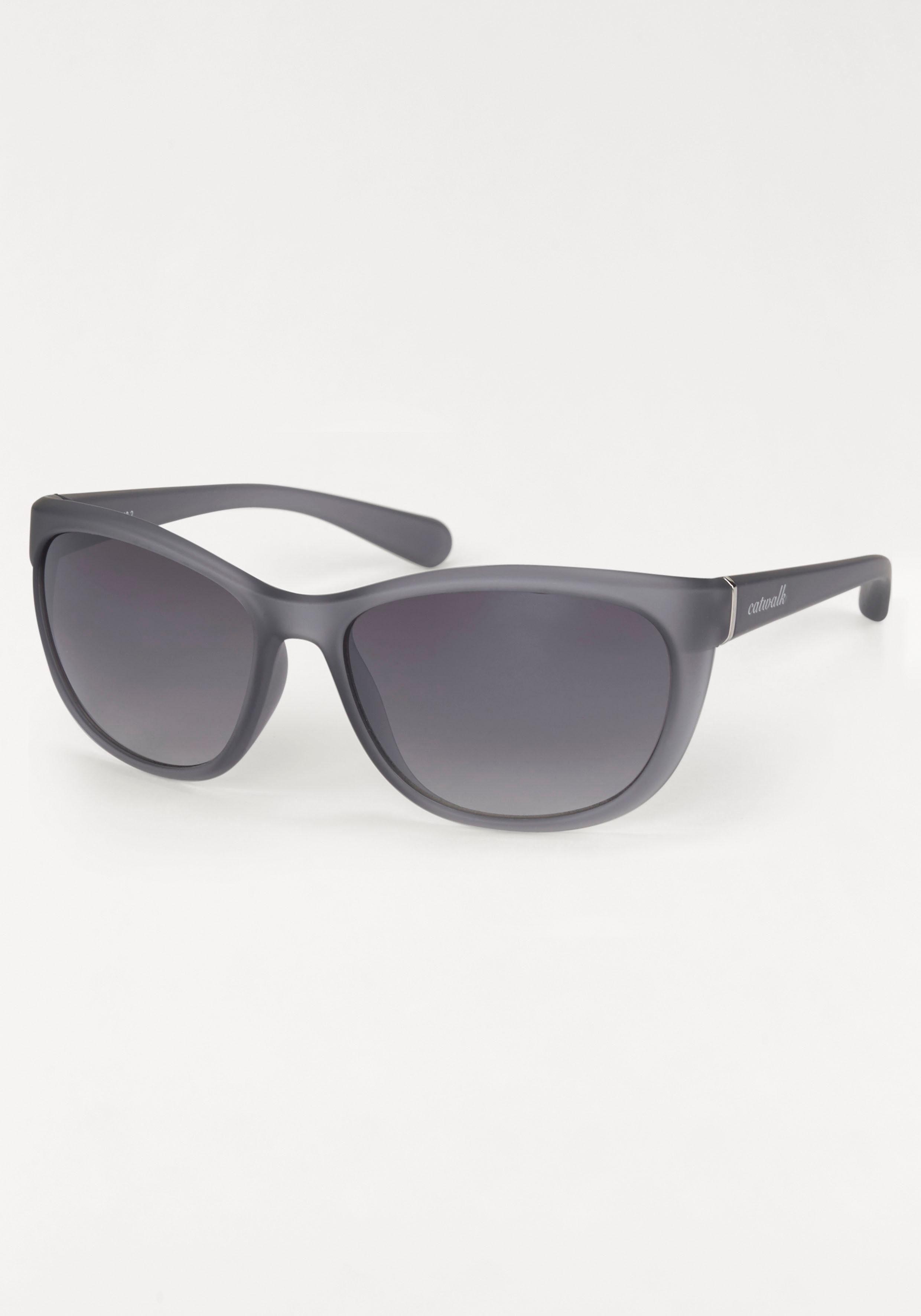 catwalk Eyewear Sonnenbrille, im zeitlosen Design, grau, dunkelgrau