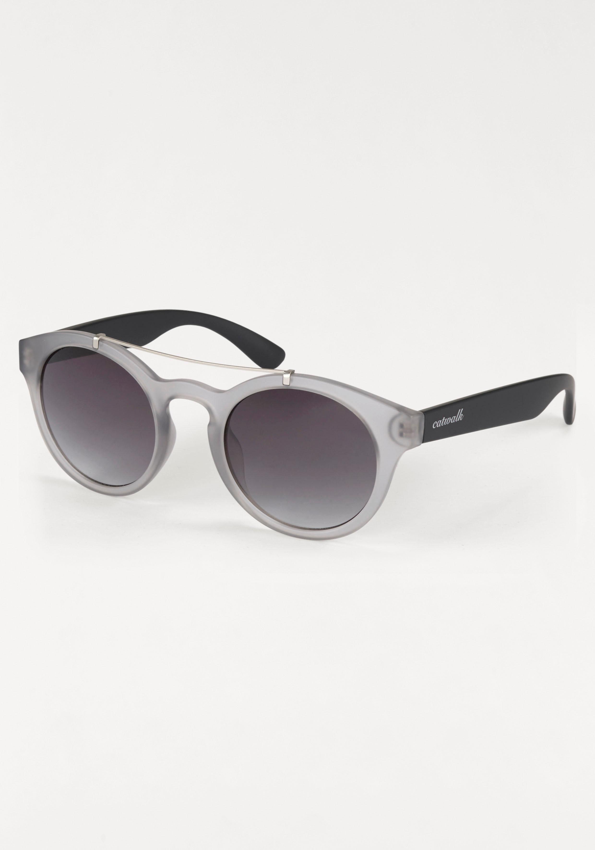 catwalk Eyewear Sonnenbrille, im modischen Design, grau, grau