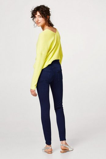 Esprit Collection Soft Stretch Denim With Decorative Zippers