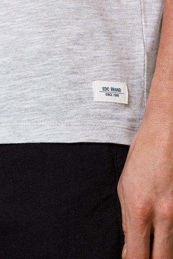 EDC BY ESPRIT Jersey-Shirt mit Blockstreifen