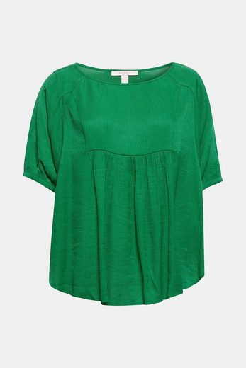ESPRIT Feminine Oversize-Crinkle-Bluse