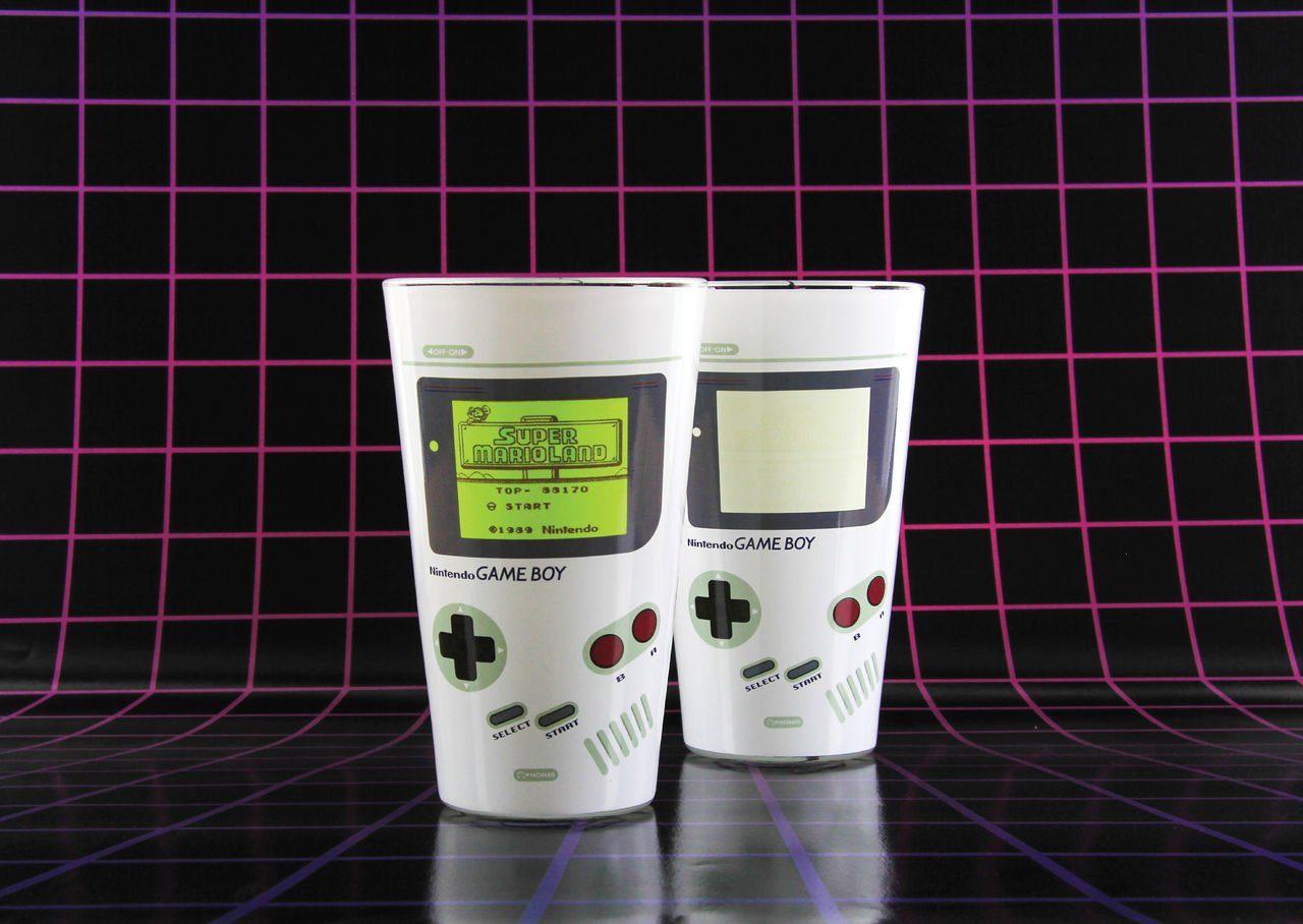 Paladone Fanartikel »Game Boy Farbwechsel Glas 400ml«