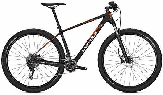 Univega Mountainbike »Summit LTD Carbon«, 22 Gang Shimano Deore XT Schaltwerk