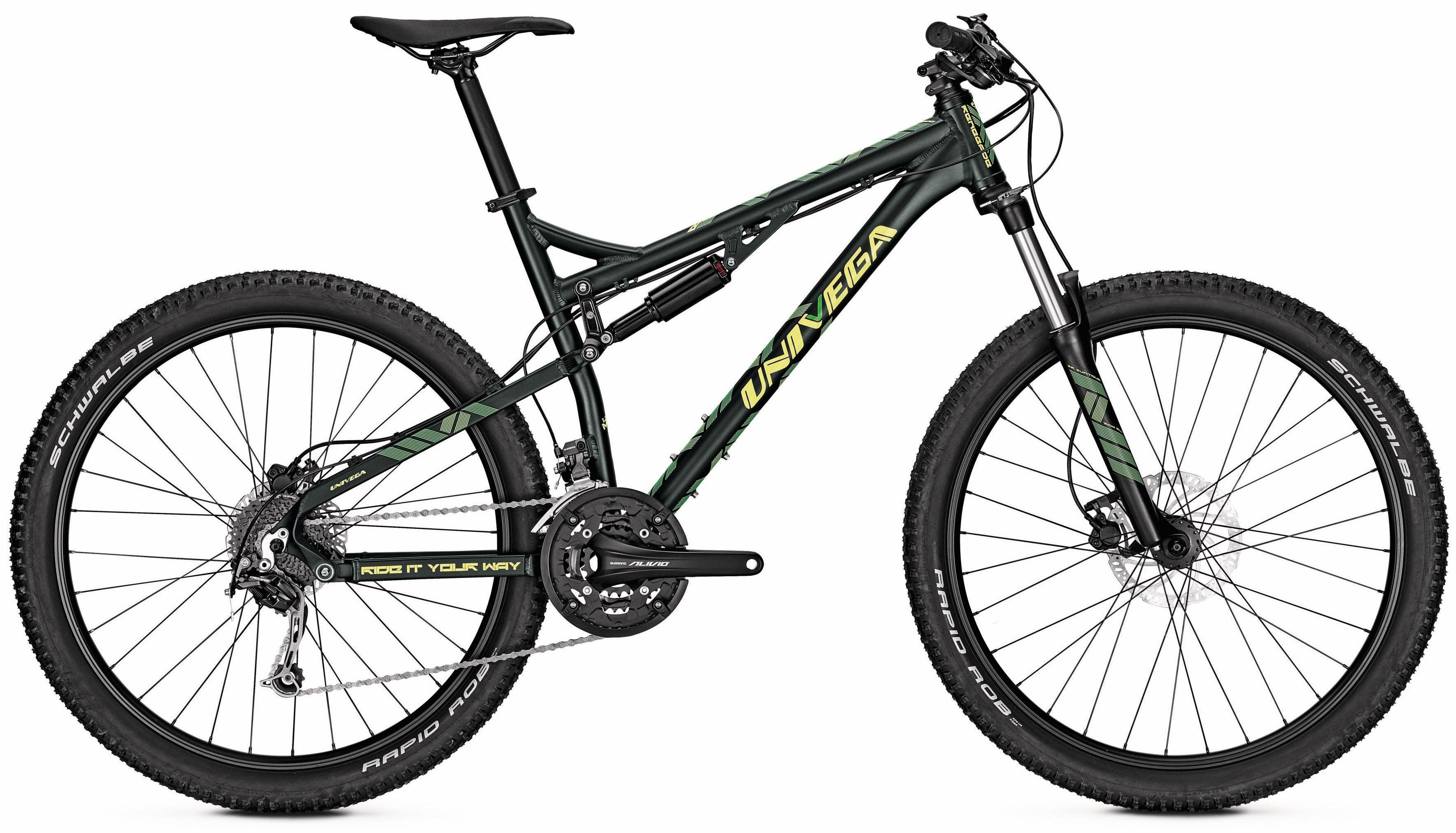 Univega Mountainbike »Renegade 7.0«, 27 Gang Shimano Deore Schaltwerk