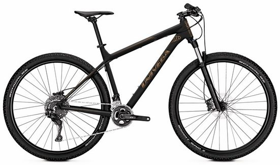Univega Mountainbike »Summit LTD«, 22 Gang Shimano Deore XT Schaltwerk